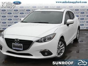 2015 Mazda Mazda3 GS  Sunroof, Heated Seats