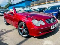 2004 Mercedes-Benz CLK 240 Elegance 2dr Tip Auto CONVERTIBLE Petrol Automatic