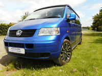 VW T5 Transporter T30 LWB fabulous Camper King conversion for sale Swindon