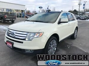 2008 Ford Edge Limited   LEATHER, ROOF, LOCAL TRADE