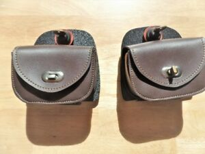 HARLEY TOURING LOWERS LOCKING COVER WITH LEATHER BAG