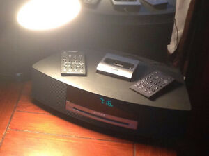 Bose Wave CD/Radio Stereo with Ipod/Iphone Charger/Player