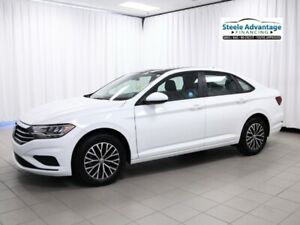 2019 Volkswagen Jetta Highline - Leather, Sunroof, Heated Seats,
