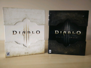Diablo 3 and Reaper of Souls Collector's Editions