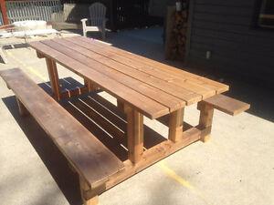 8' Cedar Picnic Table