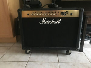 Marshall Amp MG 100 FX & Foot Switch