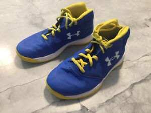 Under armour Size 3 kids Basketball sneakers