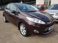 2010 FORD FIESTA 1.4 ZETEC 5 DOOR MANUAL 74K