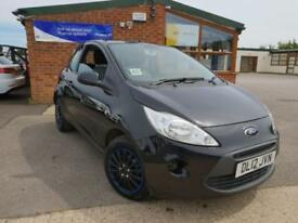 2012 Ford Ka 1.2 ( 69ps ) ( s/s ) Edge MANUAL PETROL LOW MILAGE LOW TAX