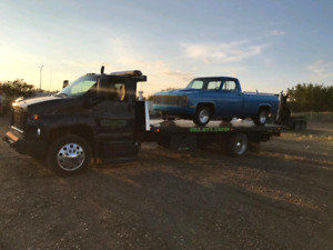 Classic car transport done right! Call Camo Tow Today!