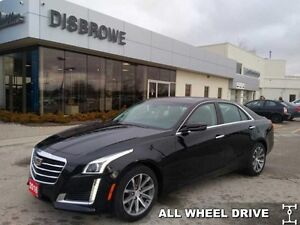 2016 Cadillac CTS 3.6 Luxury Collection   AWD, Nav, V6 and more