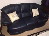 Mint condition leather suite