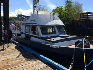 34' ex fish boat trades considered
