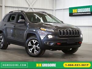 2016 Jeep Cherokee Trailhawk 4WD (caméra)