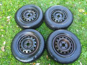 Snow Tires 185/70R14 4x100 bolt pattern