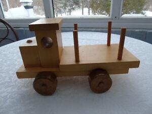 Wooden truck,P.E.I.,  Island made