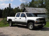 2001 GMC 2500 HD, diesel truck