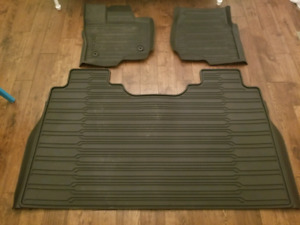 Ford F-150 SuperCrew rubber mats