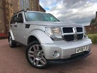 *12 MTHS WARRANTY*2008(08)DODGE NITRO 2.8 CRD SXT AUTOMATIC 4X4 81K*