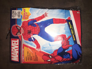 Toddler Spider-Man muscle costume