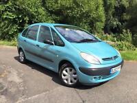 Citroen Xsara Picasso 1.6i SX GREAT CHEAP FAMILY CAR WITH LONG MOT READY TO GO!