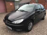 PEUGEOT 206 1.1 LOOK 3 DOOR VERY NICE EXAMPLE DRIVES VERY WELL