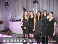 Led Dance Floor Rental Vancouver BC - DFV