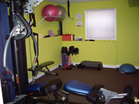 Personal Training and Nutritional Counseling in Private Studio
