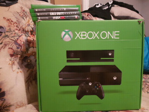Like New 500GB Xbox One with Games!