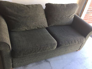 Sofa, Queen bed--Sofabed with mattress