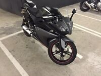 YAMAHA YZF R125, 14PLATE LOW MILEAGE, CAT D £2050 FINAL PRICE