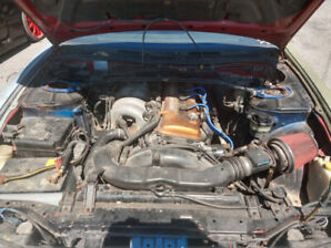 1995 Nissan 240SX, In running condition (Selling for parts)