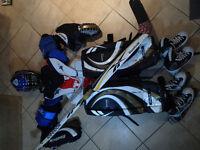 JR Goalie Equipment