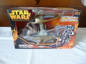 Star Wars Wookiee Flyer with Warrior New in Package