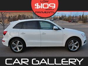 2014 Audi Q5 S-LINE w/Leather, PanoRoof, Navi $109/Wkly YOU'RE A