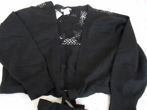 Ladies new black shrug