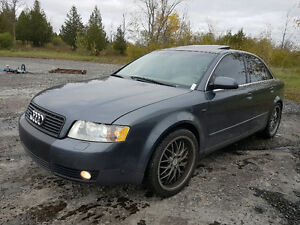 new price Audi A4 3.0l 2002 water pump and timing belt at 315000 Gatineau Ottawa / Gatineau Area image 2