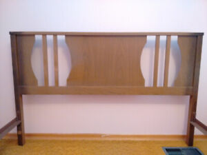 Bed Frame including Headboard and Footboard