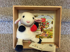 New! Apple Park Lambie and book set