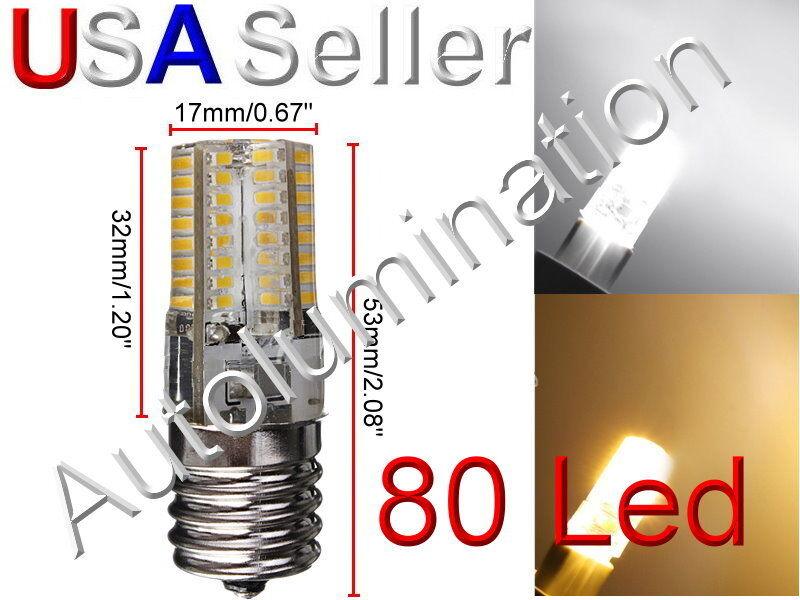 E17 LED Microwave Appliance Light Bulb Lamp 120vac Replaces
