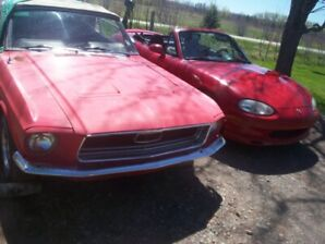 1968 Ford Mustang convertible project(needs full restoration)