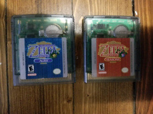 Legend of Zelda Oracle of Ages and Seasons