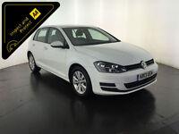 2013 VOLKSWAGEN GOLF SE TDI BLUEMOTION 1 OWNER VW SERVICE HISTORY FINANCE PX