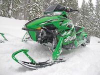 2013 Artic Cat snow pro F800RR Avec trailer
