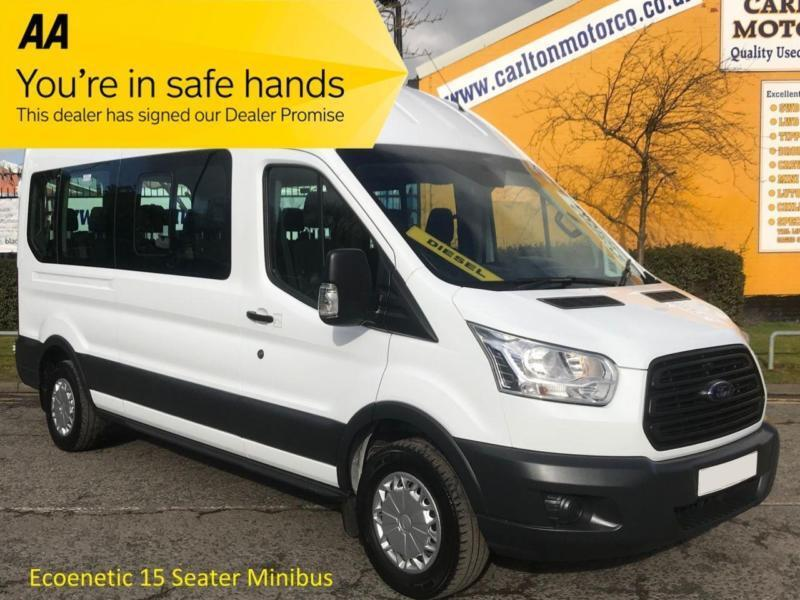 Ford Transit County 4x4 For Sale >> 2014/ 64 Ford TRANSIT 410 TDCI 125 L3 H3 15 SEAT MINIBUS LWB HIGH ROOF rwd | in Darlington ...