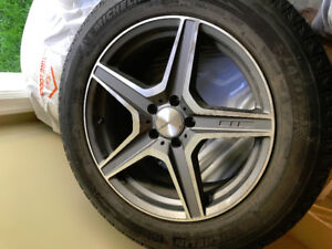 255/55R18 Winter tires and 18x8.5 Rims for Sale