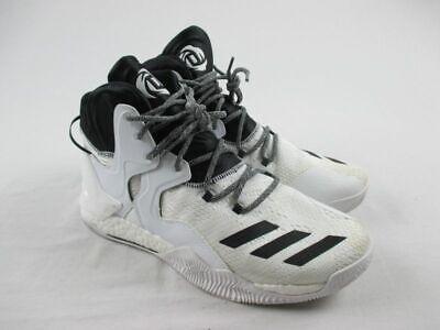 NEW adidas D Rose 7 - White/Black Basketball Shoes (Men's 11.5)