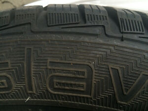 (4) Winter Tires good for Volvo S60/other - GISLAVED 225 55R 16 West Island Greater Montréal image 2