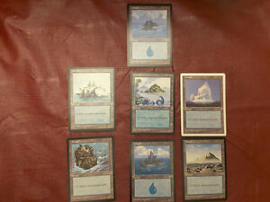 MAGIC THE GATHERING CARDS FROM THE 1990'S