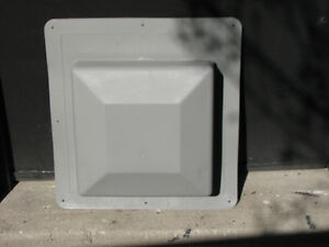 Grey Static Roof Vents